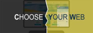 Choose Your Web